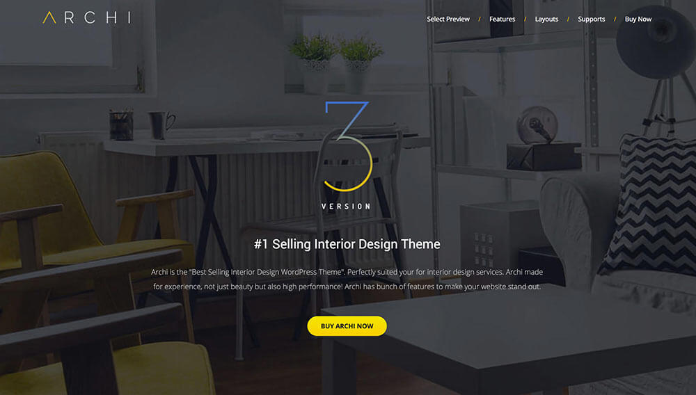 Related Archi – Interior Design WordPress Theme Review