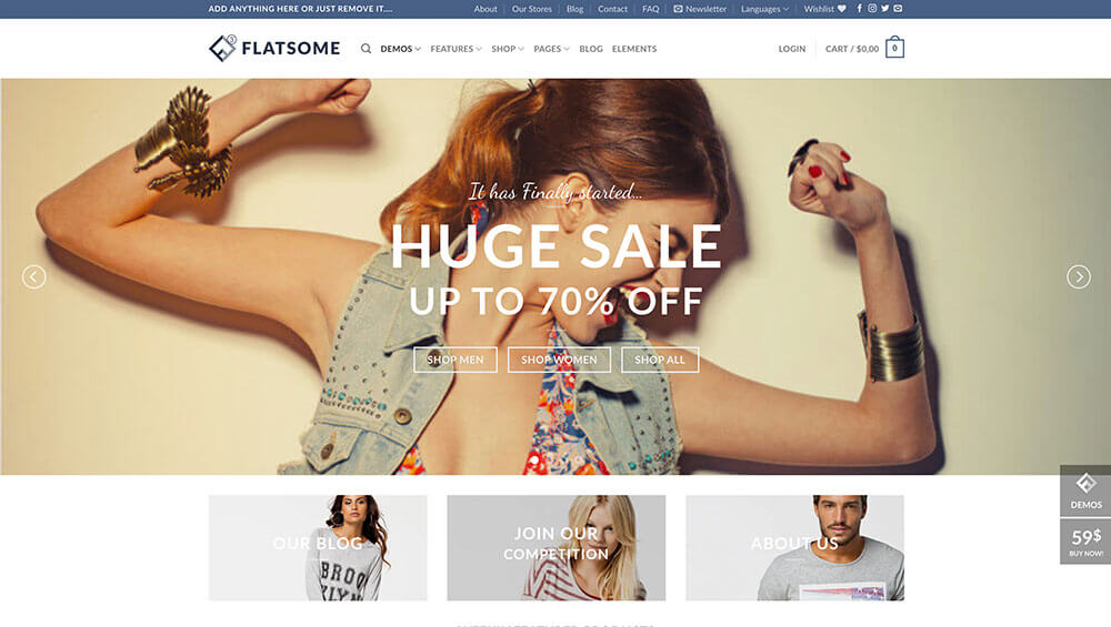 Download Flatsome Multi-Purpose Responsive WooCommerce Theme Themes and Plugins Review