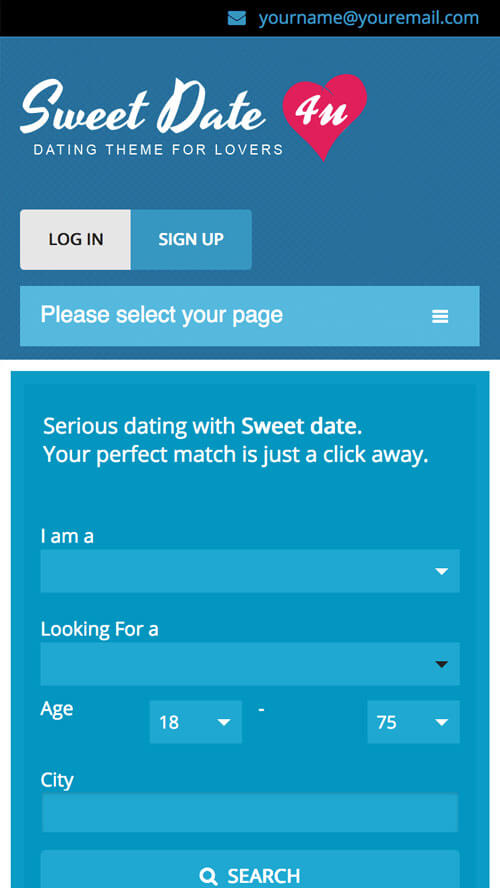 dating website for a friend